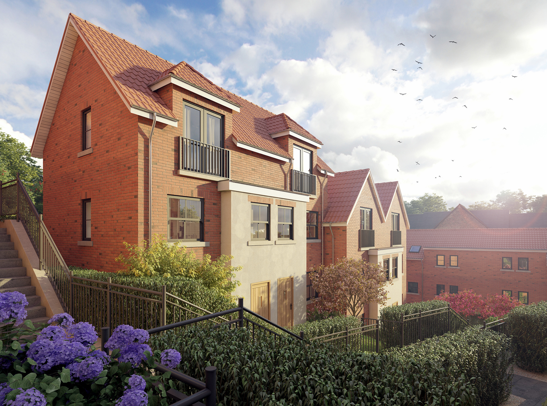 Spa Well Court, Whitby Housing 1