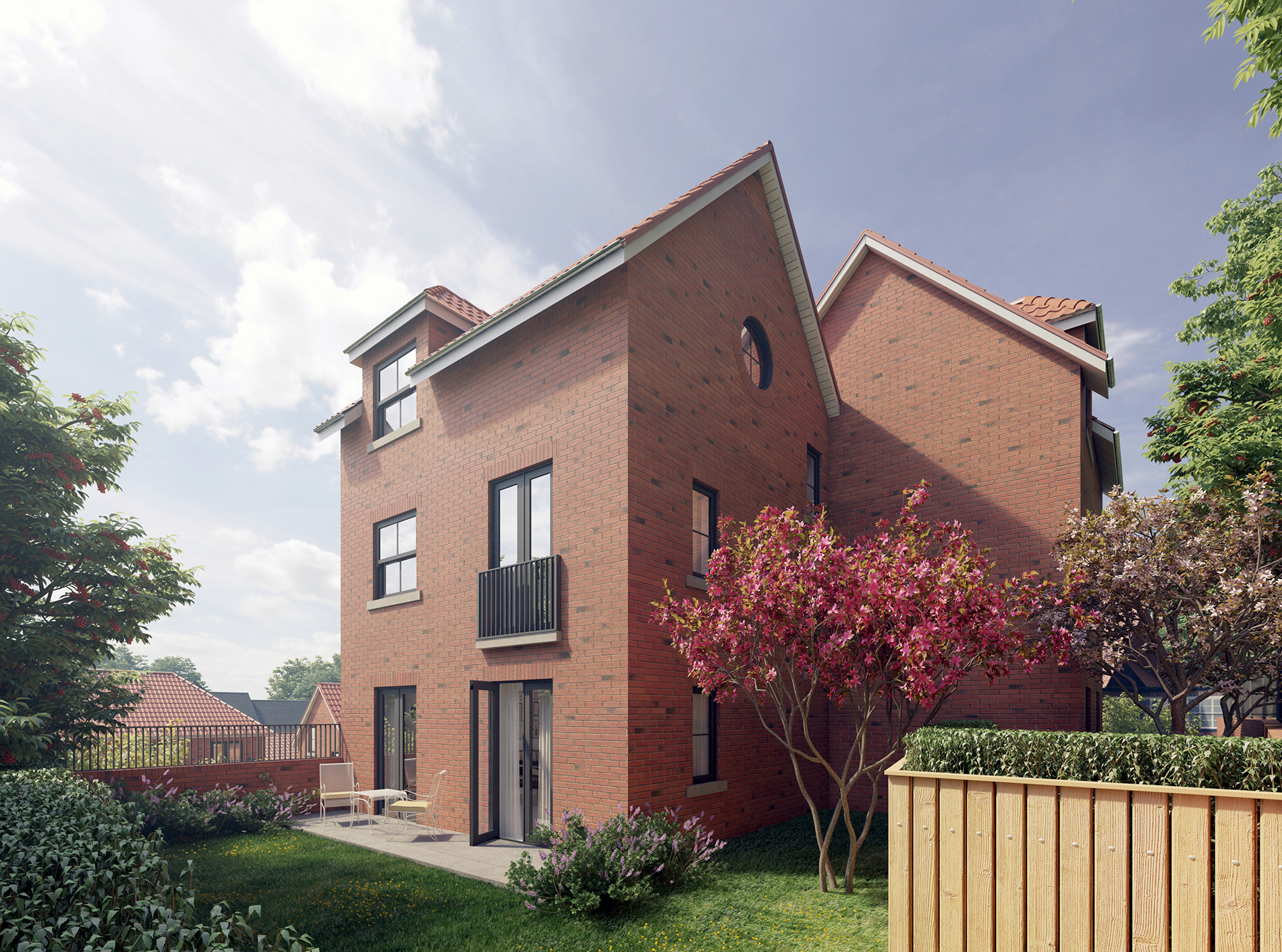 Spa Well Court, Whitby Housing 3