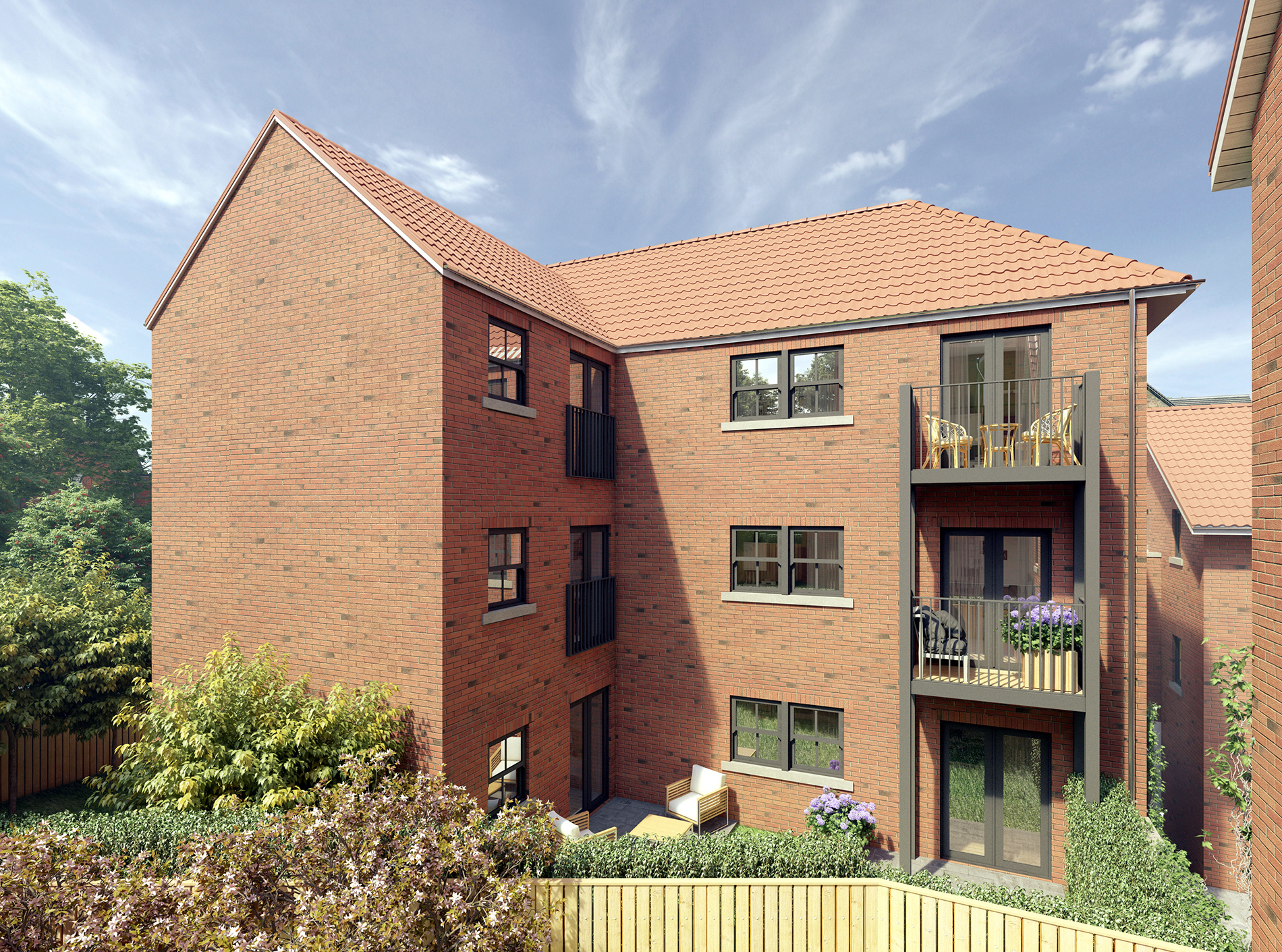 Spa Well Court, Whitby Housing 4