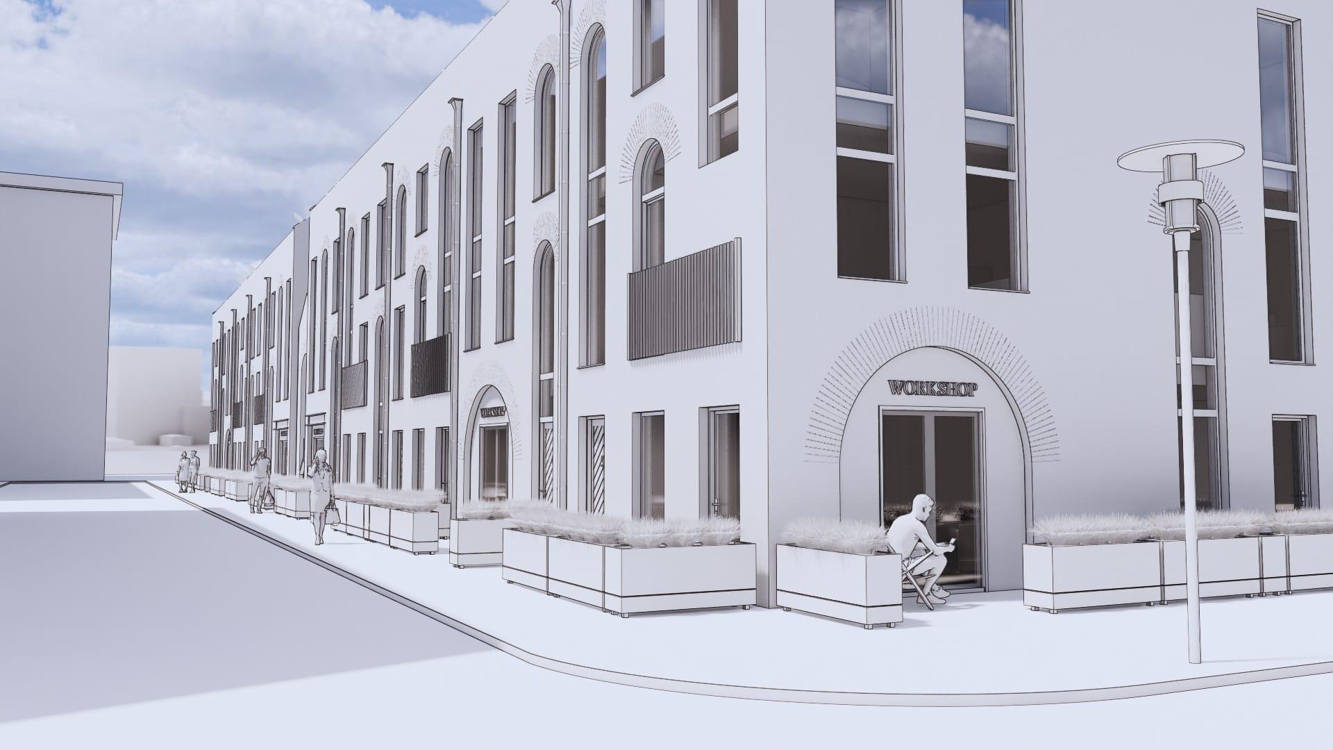 Sky-House living plans for Sheffield city centre