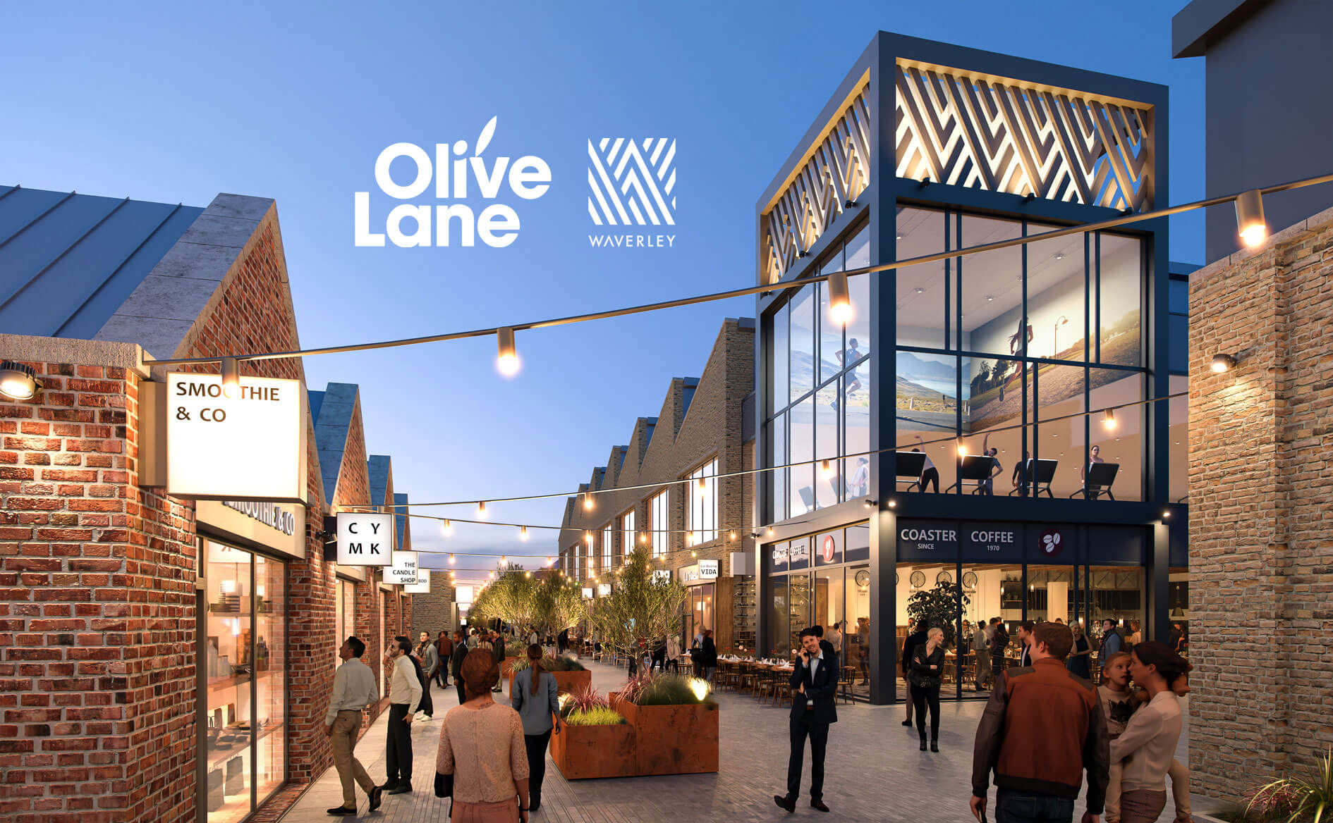 A fist look at Olive Lane 'The Heart of Waverley' 1