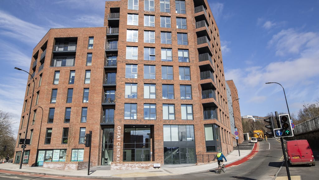 Building work completes on 131 city apartments scheme
