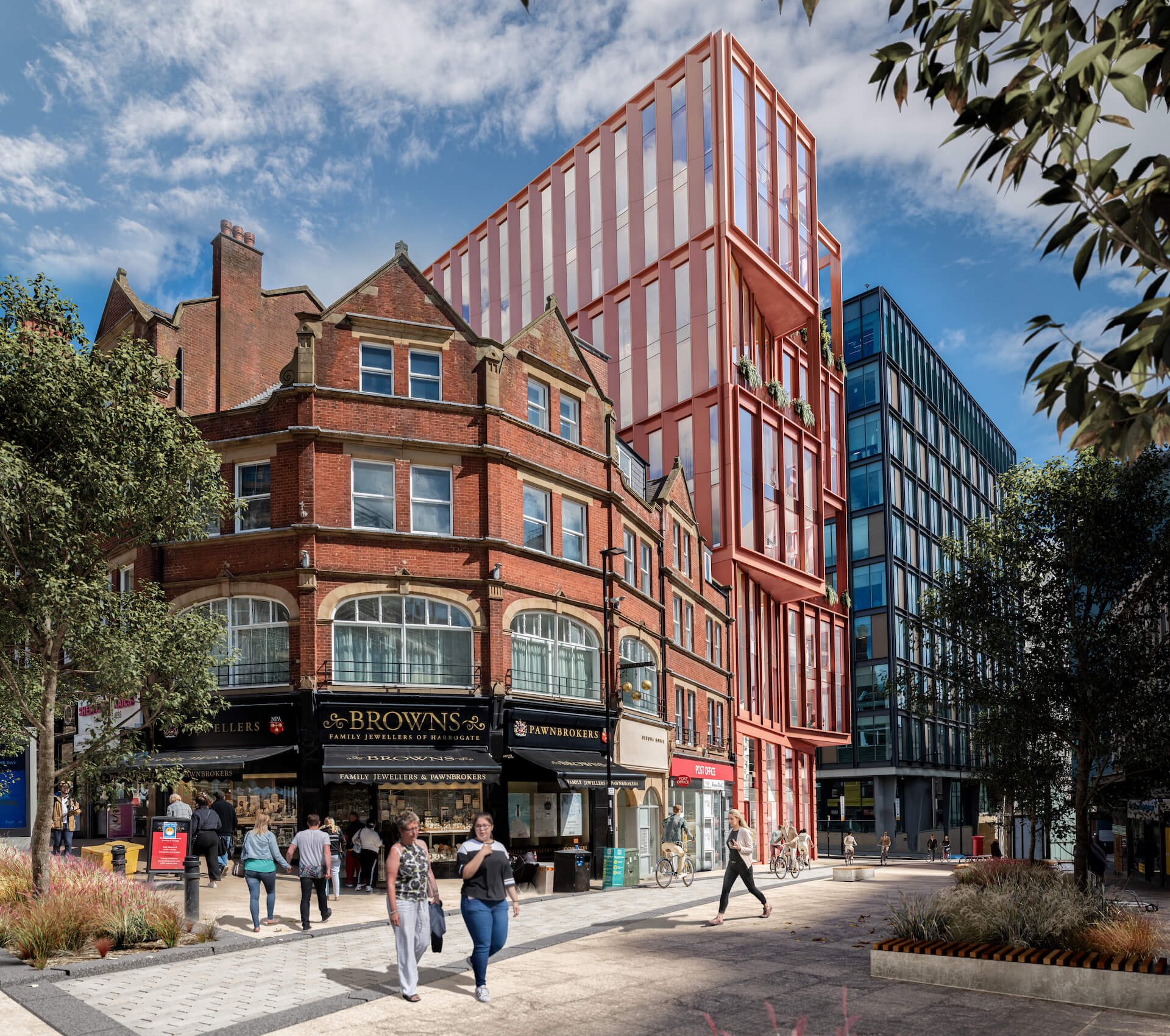 CN Towers Sheffield Zero Carbon Offices 1