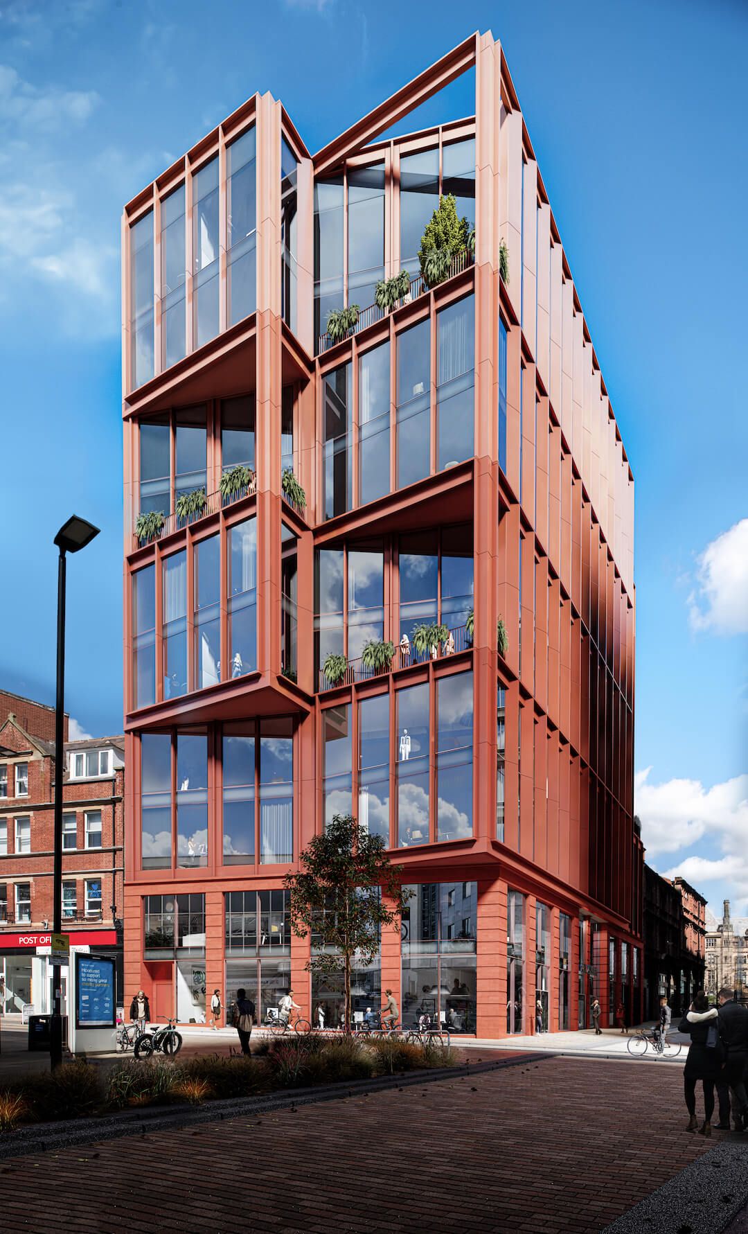 CN Towers Sheffield Zero Carbon Offices 2