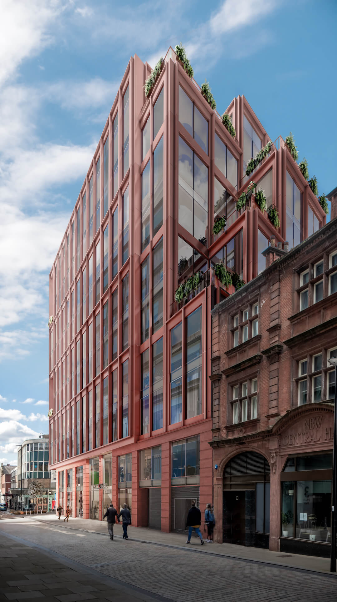 CN Towers Sheffield Zero Carbon Offices 3